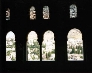 Granada from the Alhambra Palace by Ruth Wade
