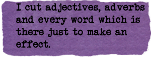 Words on writing. Quote from Simenon. Skills & craft by Ruth Wade