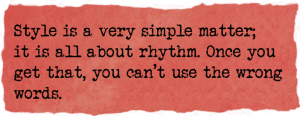 Writing secrets. Writing style and rhythm. Virginia Woolf. Writing skills & craft by Ruth Wade