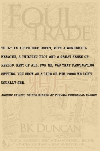 Andrew Taylor review of Foul Trade by BK Duncan