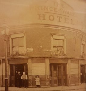 Prince of Wales, Naval Row (photo source: Simon Boakes)