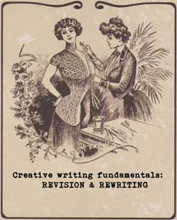 Free creative writing course from Ruth Wade. Revision & rewriting