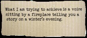 Writing secrets. Narrative & voice. Truman Capote.