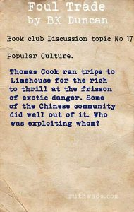 Foul Trade book club discussion topics: 17 popular culture