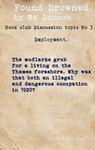 Found Drowned book club discussion topics: 3 employment in 1920