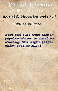 Found Drowned book club discussion topics: 9 popular culture in 1920