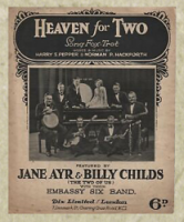 1920's singing duo Jane Ayr & Billy Childs with their Embassy Six Band.