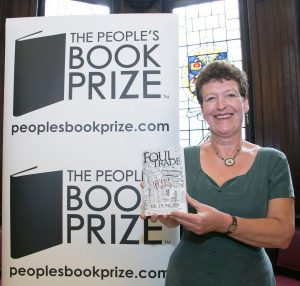 BK Duncan finalist in People's Book Prize 2016 with Foul Trade