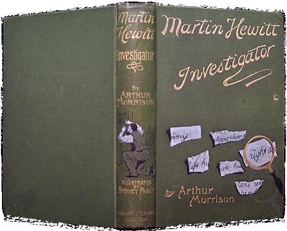 Martin Hewitt book 2. Oscar Kirk reading list. BK Duncan