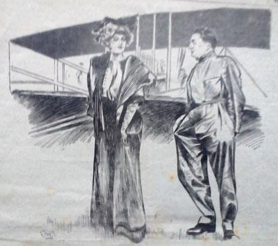 1913. Aviator and actress. Ruth Wade