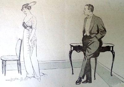 1914 cartoon. Good enough. Ruth Wade