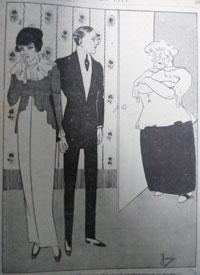 1914 cartoon. Intentions. Ruth Wade