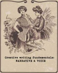 Free creative writing course from Ruth Wade. Narrative & voice