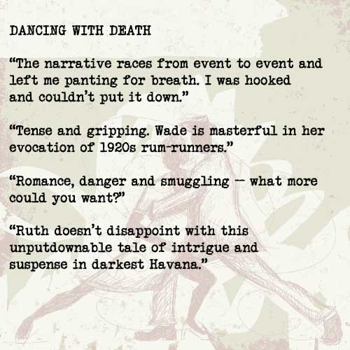 Reviews of Dancing with Death by Ruth Wade